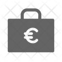 Money Euro Briefcase Icon
