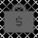 Money Briefcase Bag Icon