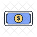 Money Dollar Note Dollar Icon