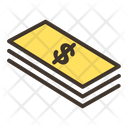 Money Cash Dollar Note Icon