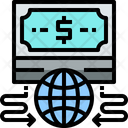 Money Global Money Transfer Online Money Transfer Icon