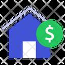Money Money Home Real Estate Money Icon