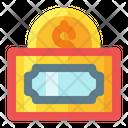 Money Coin Credit Icon