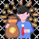 Money Sack Cash Icon