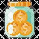 Money Jar Creative Icon