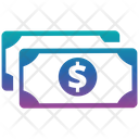 Money Icon in Gradient Style