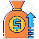 Money Business Growth Icon