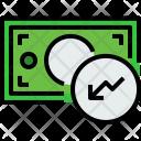 Money Bill Graph Icon