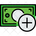 Money Bill Add Icon