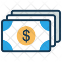 Money Cash Dollar Icon