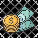 Coins Dollar Money Icon