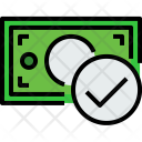 Money Bill Check Icon