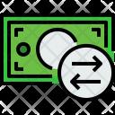 Money Bill Exchange Icon