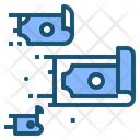 Money Flow Cash Icon