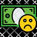 Money Bill Bad Icon