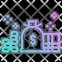 Money Cash Bank Icon