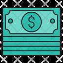 Dollar Cash Saving Icon
