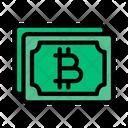Money Bitcoin Crypto Icon