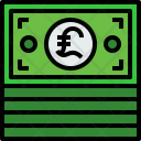 Money Bills Finance Icon