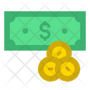 Money Coins Pay Icon