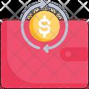 Money Cash Back Icon