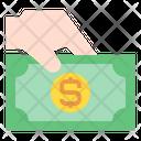 Money Hand Finance Icon