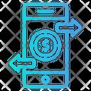 Money Transfer Dollar Icon