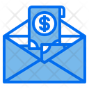 Mail Money Cash Icon