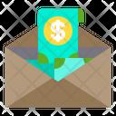 Mail Money Cash Icon