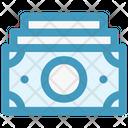 Cash Money Bank Notes Icon