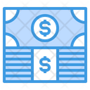 Money Stack Finance Icon