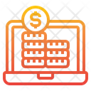 Computer Money Laptop Icon