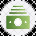 Money Cash Bundle Banknotes Icon