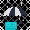 Money Cash Rain Icon