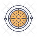 Money Circulation Currency Icon