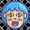 Money Emoji Emoticons Icon