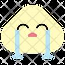 Loudly Crying Emoji Emoticon Icon