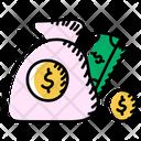 Economics Money Finance Icon