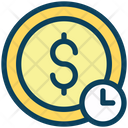 Money Time Investment Icon