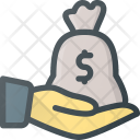 Money Investment Give Icon