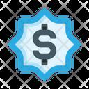 Dollar Label Money Dollar Icon