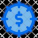 Money Goal Finance Icon
