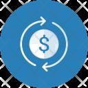 Money Recycle Dollar Icon