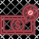 Money Virus Bacteria Icon