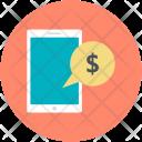 Money Talk Conversation Icon