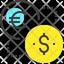 Money Exchange Convert Icon