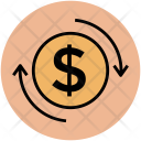 Money Dollar Exchange Icon