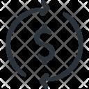 Money Dollar Exchange Icon