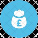 Money Sack Pound Icon