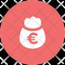 Money Sack Euro Icon